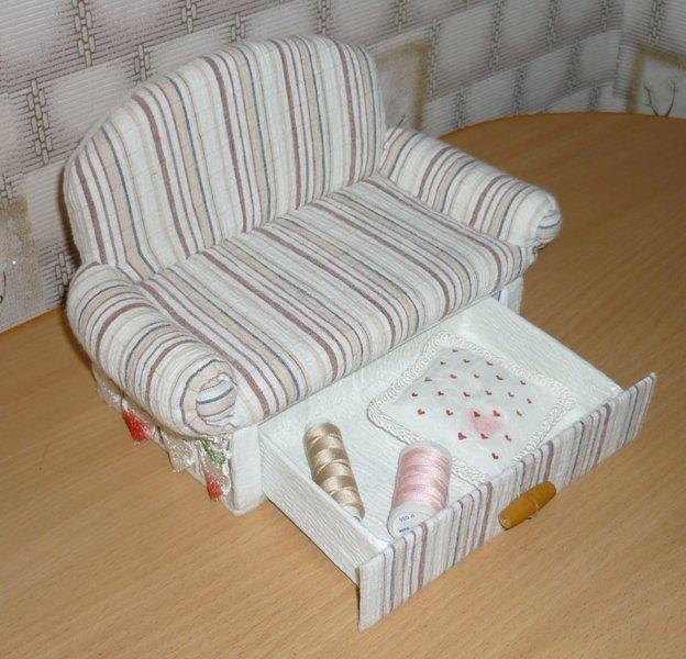 Кукольная мебель своими рука