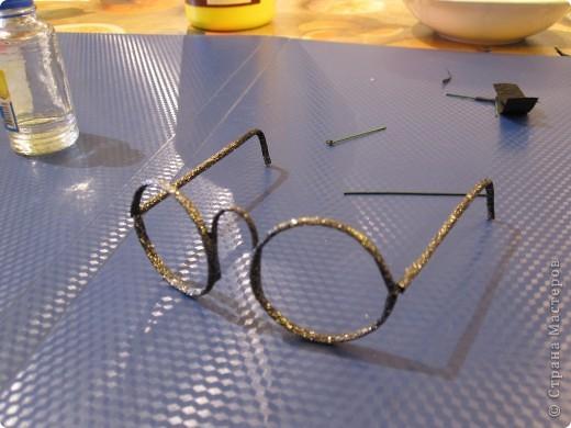 Сделать очки для куклы своими руками