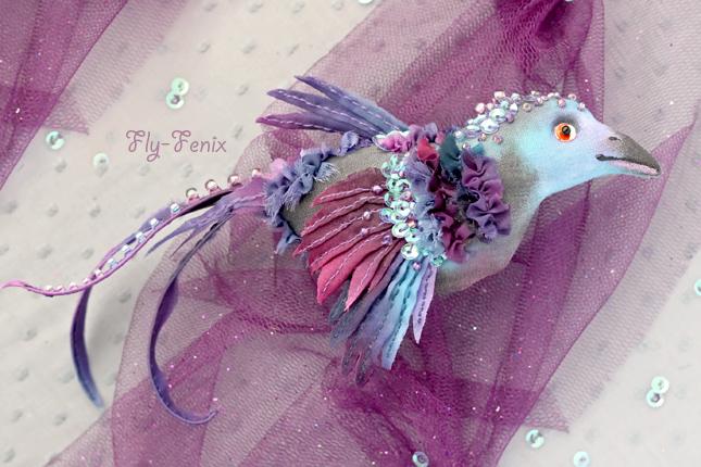Птицы из ткани своими руками мастер класс