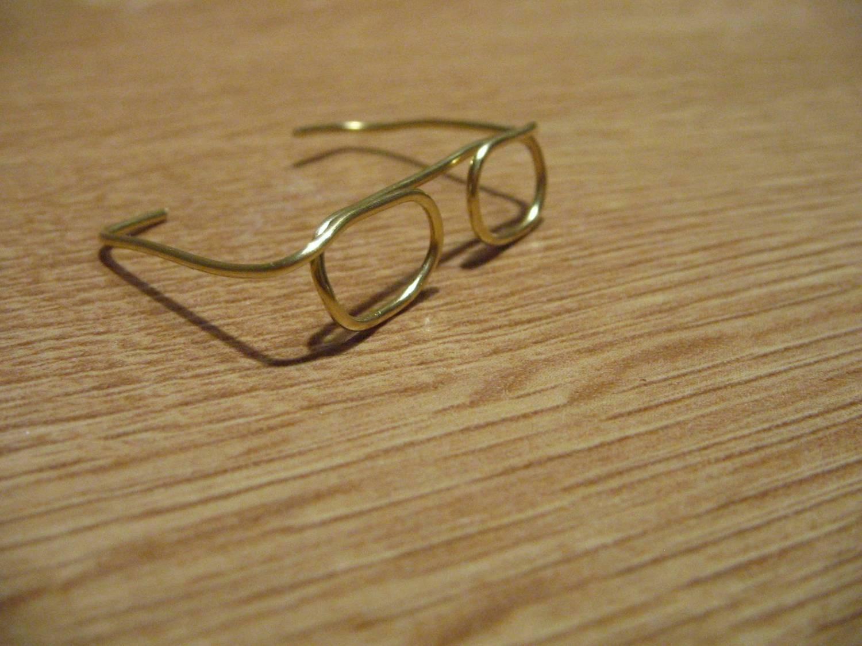 Как сделать очки из проволоки своими руками
