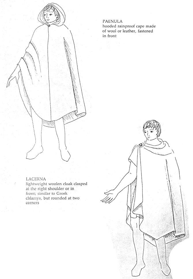 Плащ средневековый с капюшоном выкройка 135