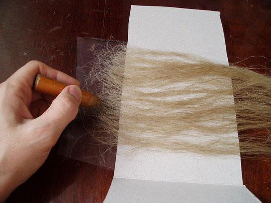 Трессы из волос в домашних условиях 662