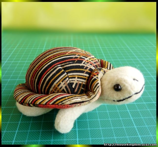 Морская черепаха своими руками
