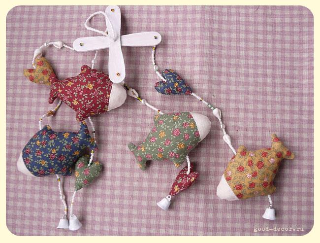 Шьем игрушки для новорожденных своими руками 14