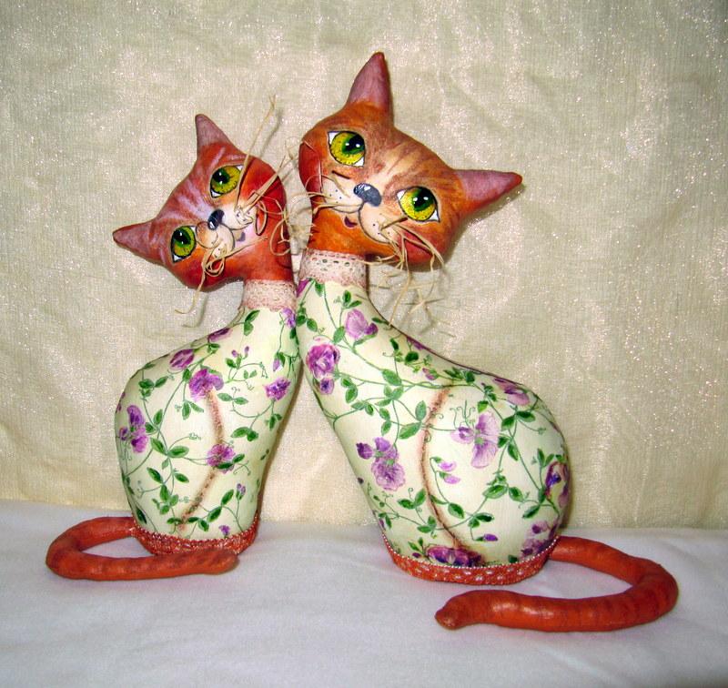 Котики и кошки своими руками 63